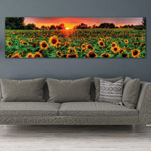 Wall Art Picture Painting Prints Flowers Landscape No Frame Canvas Paintings Artwork Poster for Living Room
