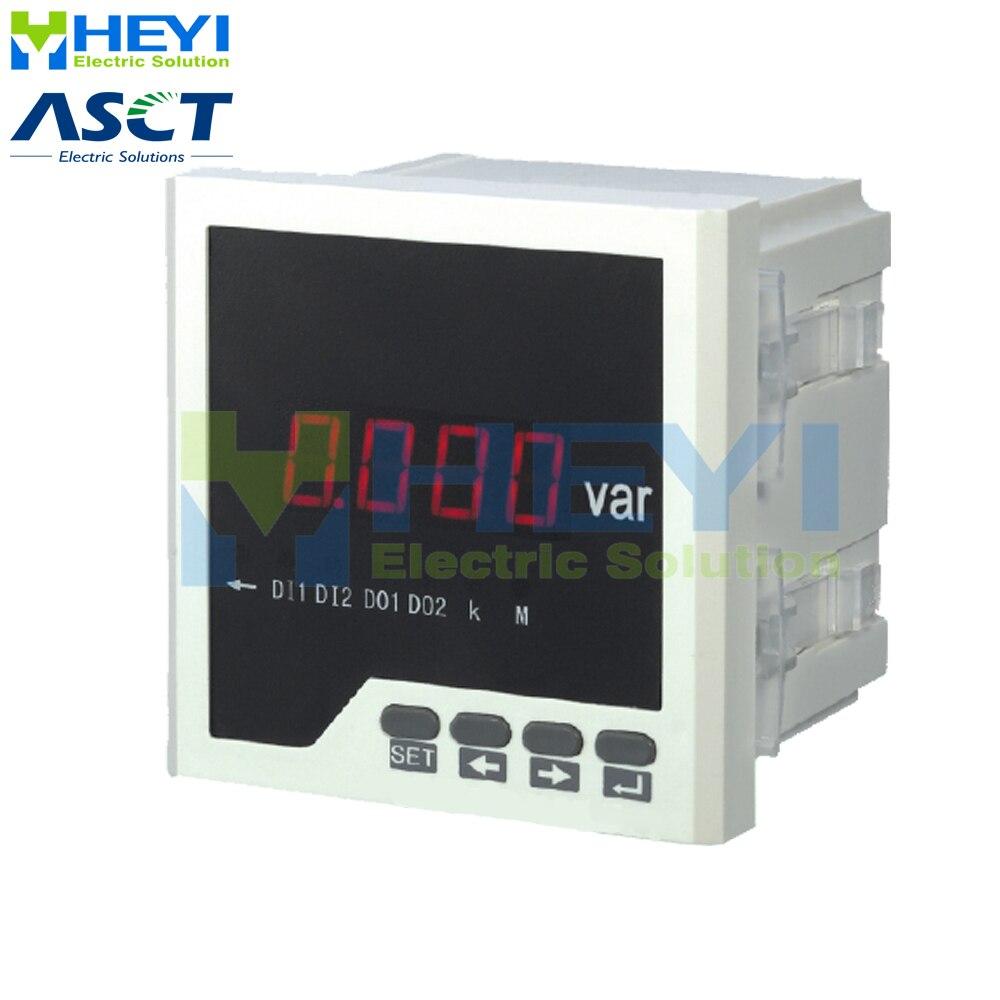 Single phase digital LED reactive power meter Power Meters Tools - title=