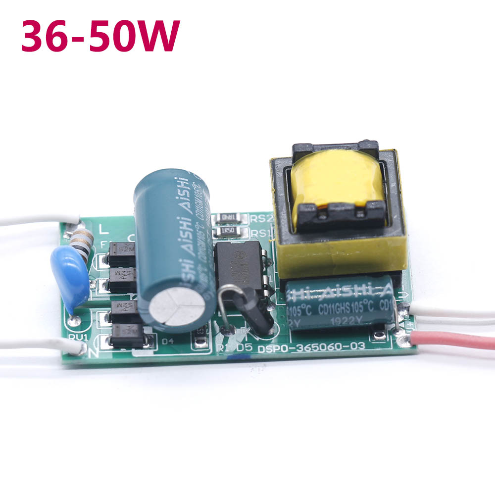 LED Driver 36-50W Power Supply Constant Current 290-300mA Control Lighting Transformers For LED Lights DIY Lamp Bulb