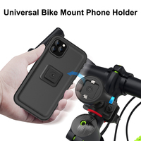Bicycle Phone Holder For iPhone 11 Pro XS Max 7 Samsung Universal Motorcycle Phone Holder Bike Handlebar Stand Support Bracket