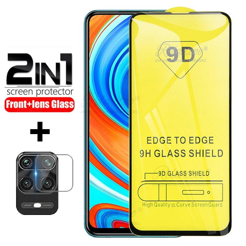 For Xiaomi redmi note 9 Pro glass on xiomi Redmi Note9 Note 9 pro max 9s note9s Cover Glass Protecti