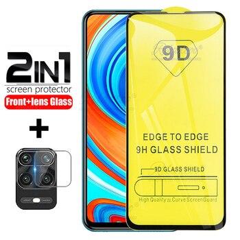 Per Xiaomi redmi note 9 Pro di Vetro su xiomi redmi note 9 nota 9 pro max 9s note9s vetro di copertura di Protezione protezione Dello Schermo Della fotocamera