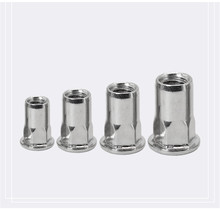 M3/M4/M5/M6/M8/M10/M12 Flat Head Hexagon Insert Nuts Riveting Nut inserti Rivnut Insertos Threaded Inserts Ecrou Inserto Tuercas