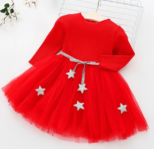 6M-4TAutumn Baby Girls Dress Long Sleeve Knitting Lace Children Princess Dress Kids Dresses For Girls Fashion Kids Party Clothes girls sweaters knit tassel sweater dresses kids girls knitting fashion jumper dress kid verkleed kostuum meisjes clothes yl468