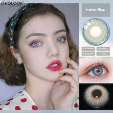 Ovolook 1 пара линз Цвет ed линзы для глаз 5 тон цветные контактные