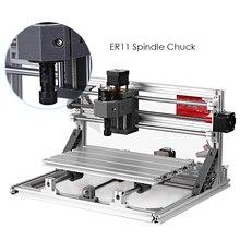 נגרות כלי CNC 3018 GRBL בקרת DIY מיני CNC חריטת מכונת CNC נתב לייזר חרט עם 500/2500/ 5500mw לייזר DIY