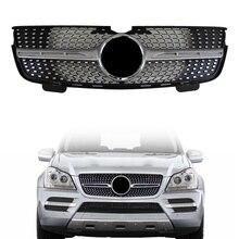 Передняя решетка для Mercedes Benz gl-класс X164 GL320 GL350 GL450 2006 2007 2008 2009 2010 2011 2012 Diamond Стиль гриль