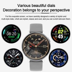 Image 3 - MISIRUN C6 Đồng Hồ Thông Minh Dành Cho Nữ Gọi Cảm Ứng Đầy Đủ IP68 Chống Nước Nhịp Tim Thời Trang Thể Thao Nam Đồng Hồ Thông Minh Smartwatch Cho IOS Android
