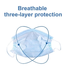 5Pcs Disposable medical surgical mask N95 KF94 Non Woven Disposable Face Mask 3 Layers Medical Earloop Face Surgical mask