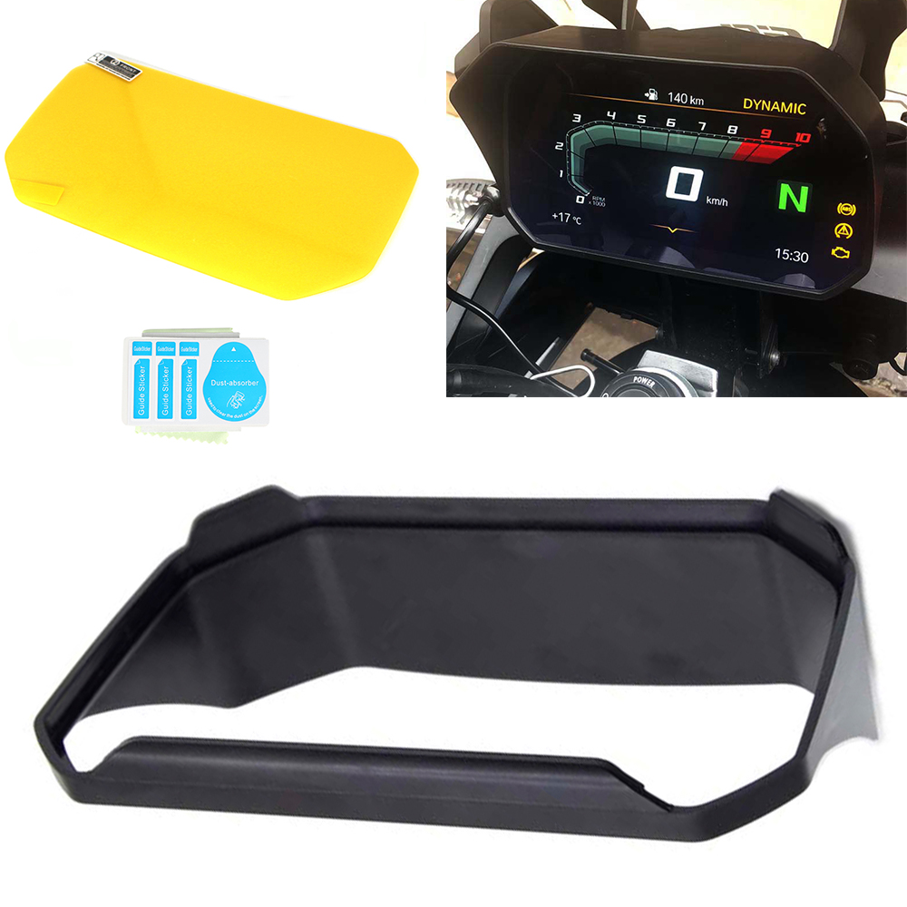 Motorcycle Instrument Hat Sun Visor Meter Cover Guard For BMW R1200GS LC Adventure R1250GS LC Adv F750GS F850GS S1000XR C400X in Covers Ornamental Mouldings from Automobiles Motorcycles