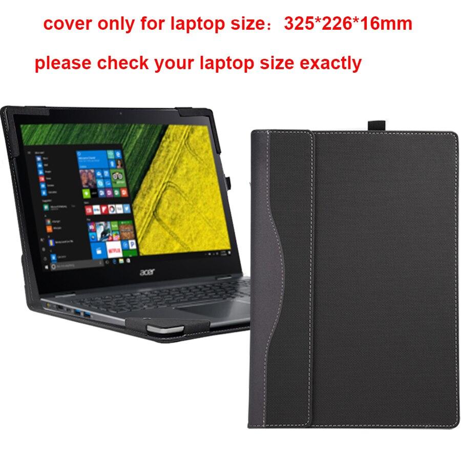 Étui pour acer Spin 5 SP513 SP513-53N SP513-52N 13.3 pochette pour ordinateur portable détachable housse pour ordinateur portable sac de protection peau stylet cadeaux
