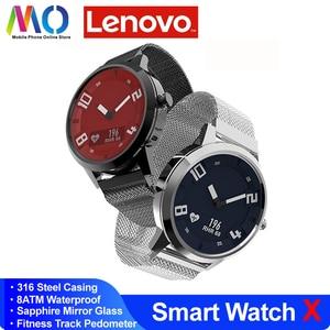 Original new Lenovo Watch X Men Women Smart Watch Bluetooth 5.0 Heart Rate Waterproof Blood Pressure Health For Xiaomi Samsung