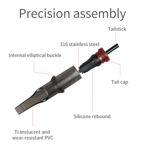 Image 3 - 20 pcs RM Premade Sterilized Round Curved Magnum Tattoo Cartridge Needles Supply