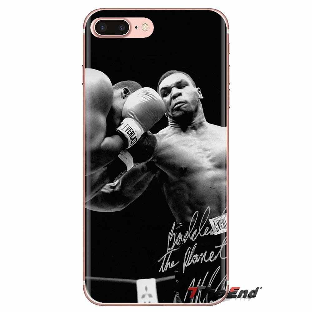 Transparente TPU casos boxeo rey Mike Tyson punch para Huawei Nova 2 3 2i 3i Y6 Y7 Y9 primer Pro GR3 GR5 2017, 2018 de 2019 Y5II Y6II