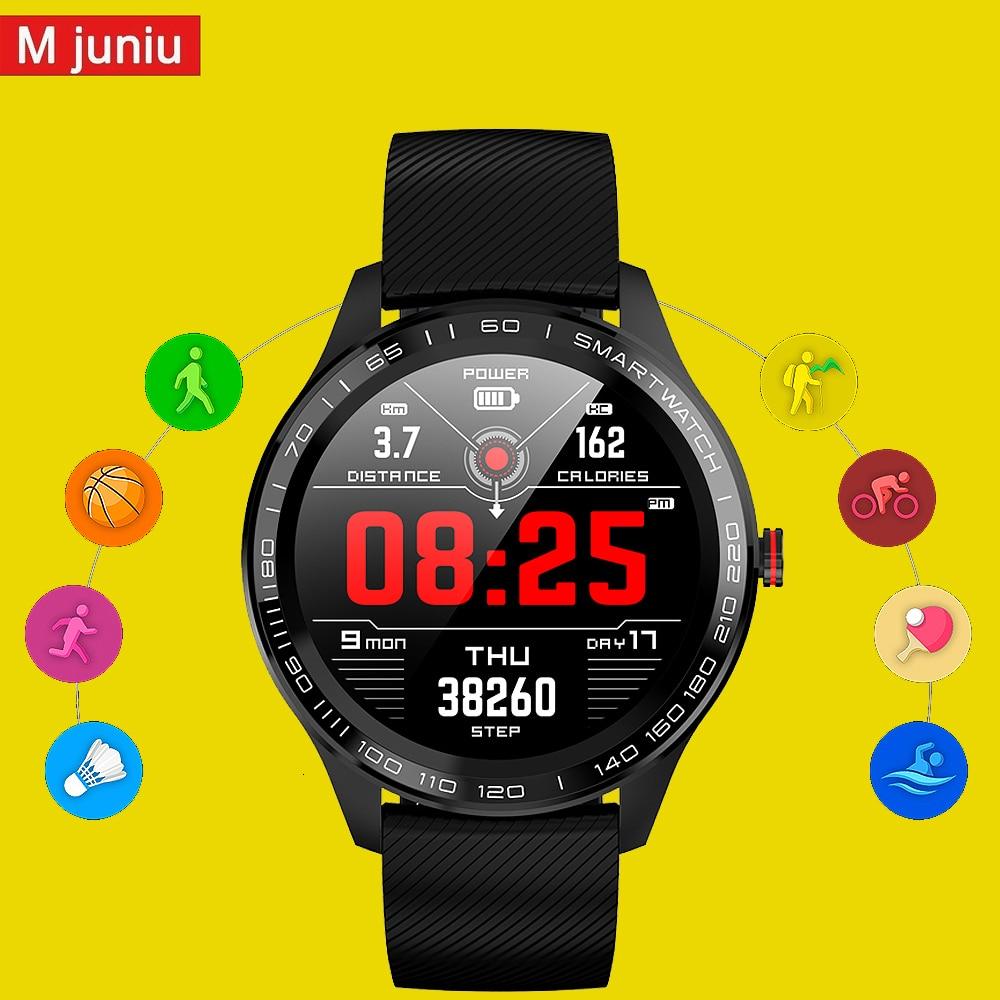 L8 L9 smartwatch Men women IP68 Waterproof Smart Watch ECG PPG Blood Pressure Heart Rate sports fitness pk L5 L7 smart watch