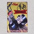 Велосипед, французский Solex, велосипед, мотоциклетная фотопластина, знаки, настенная мужская пещера, декоративный плакат, металлический винт...