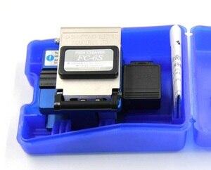 Image 1 - Hoge Precisie FC 6S Optical Fiber Cleaver Met Fiber Schroot Collector Ftth Fiber Snijden Cleaver Gratis Verzending