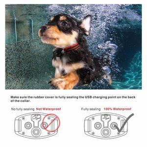 Image 5 - 2 in 1 Dog Training Collar & Anti Bark Collar 400M Rechargeable Dog Electric Collar Waterproof Remote Dog Pet Product