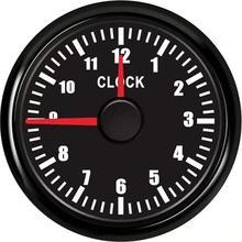1 шт. указатель Тип контрольно-измерительные приборы настройки УФ-фильтр 52 мм с лодка часы метров 0-12Hours Hourmeters красный Подсветка для авто поставка яхты мотоцикла