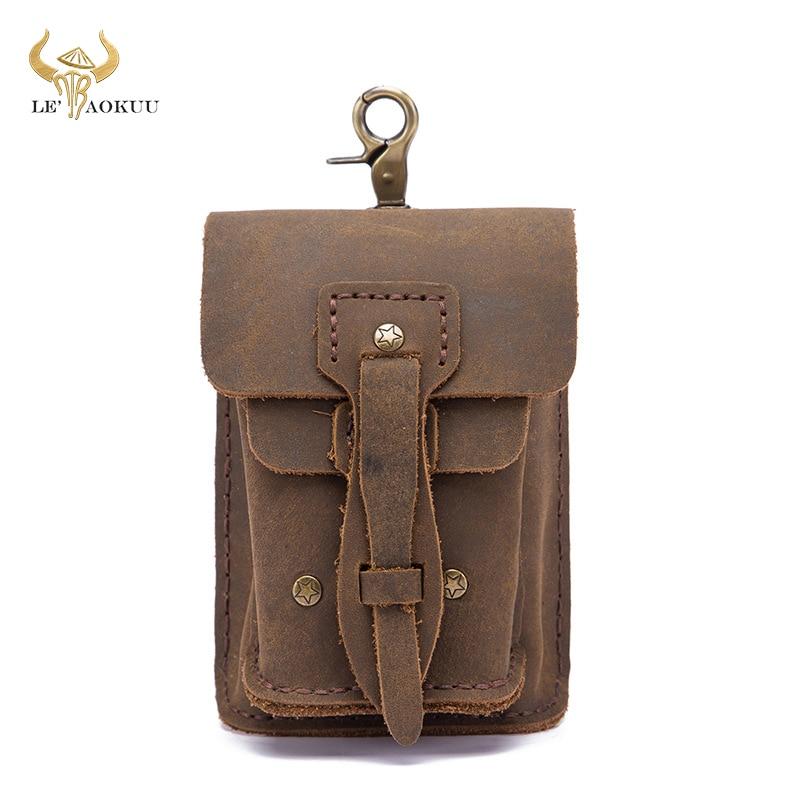 Qualidade de Couro Moda Pequeno Verão Bolsa Gancho Design Cintura Pacote Cigarro Case 5 Telefone Fanny Cinto 0018