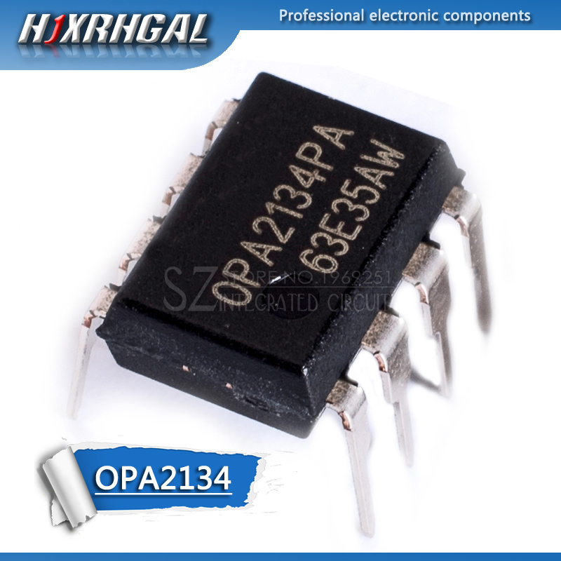 1PCS OPA2134PA DIP8 OPA2134P DIP <font><b>OPA2134</b></font> DIP-8 2134PA High Performance AUDIO OPERATIONAL AMPLIFIERS HJXRHGAL image