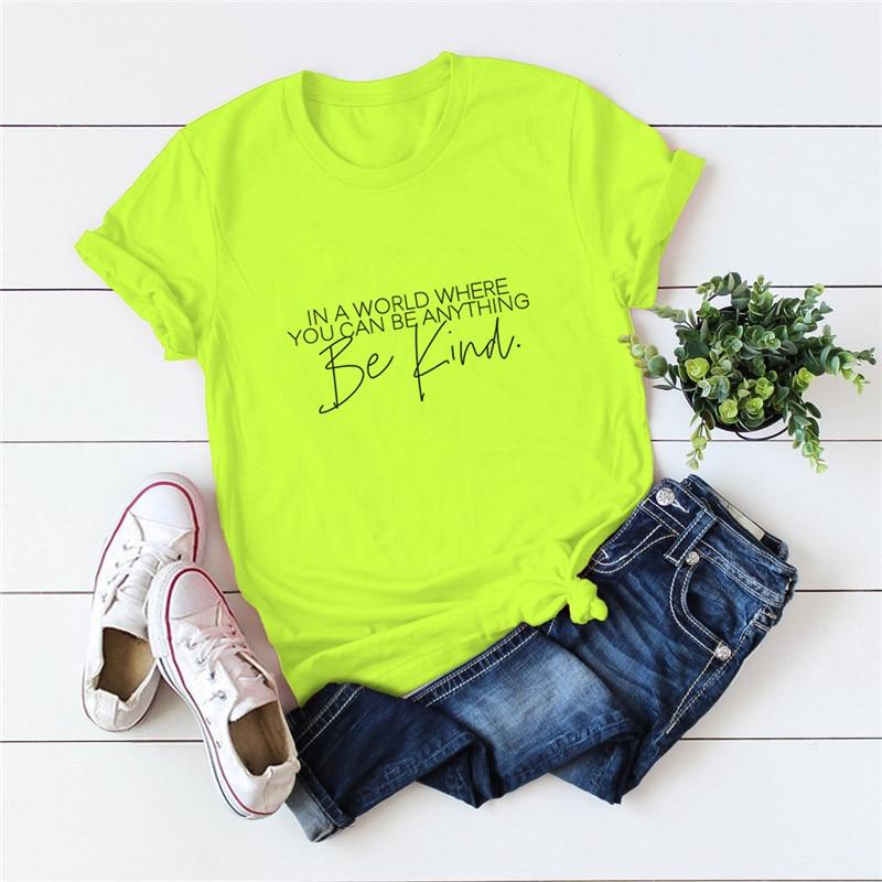 Plus Size S-5XL Worden Soort Print Vrouwen Shirts 100% Katoen Tshirt O Hals Korte Mouw Tees Zomer T Shirt Vrouwen t-shirt Vrouwelijke Top