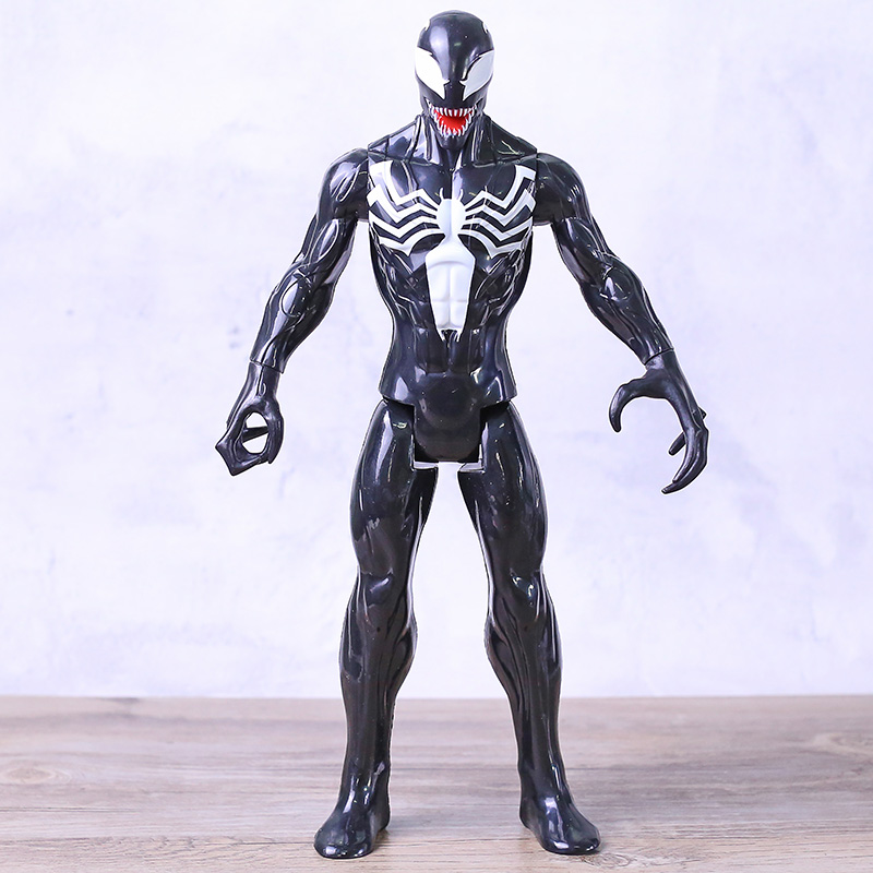 "12/"" Titan Hero Series Black Suit Spider-Man Venom Figure Kids Birthday Gift"