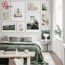 Nature Posters and Prints Grass Poster Hogwarts Express Wall Art Golden Canvas Painting Wall Pictures For Living Room Home Decor wall art canvas painting 3d flower picture posters and prints golden flowers poster wall pictures for living room home decor