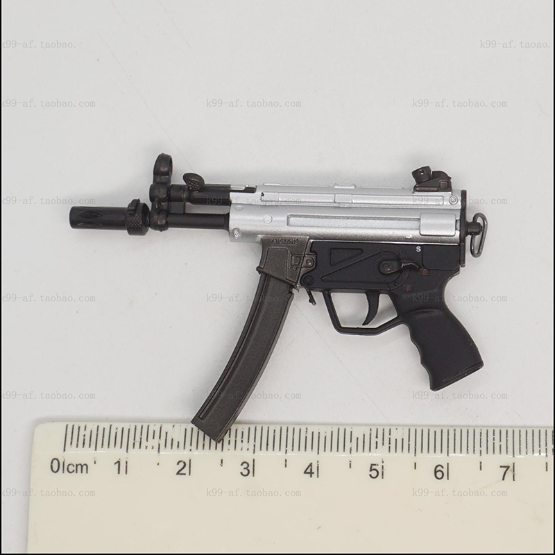 1/6 MP5 Main Weapon Models For 12''Figures Bodies Accessories
