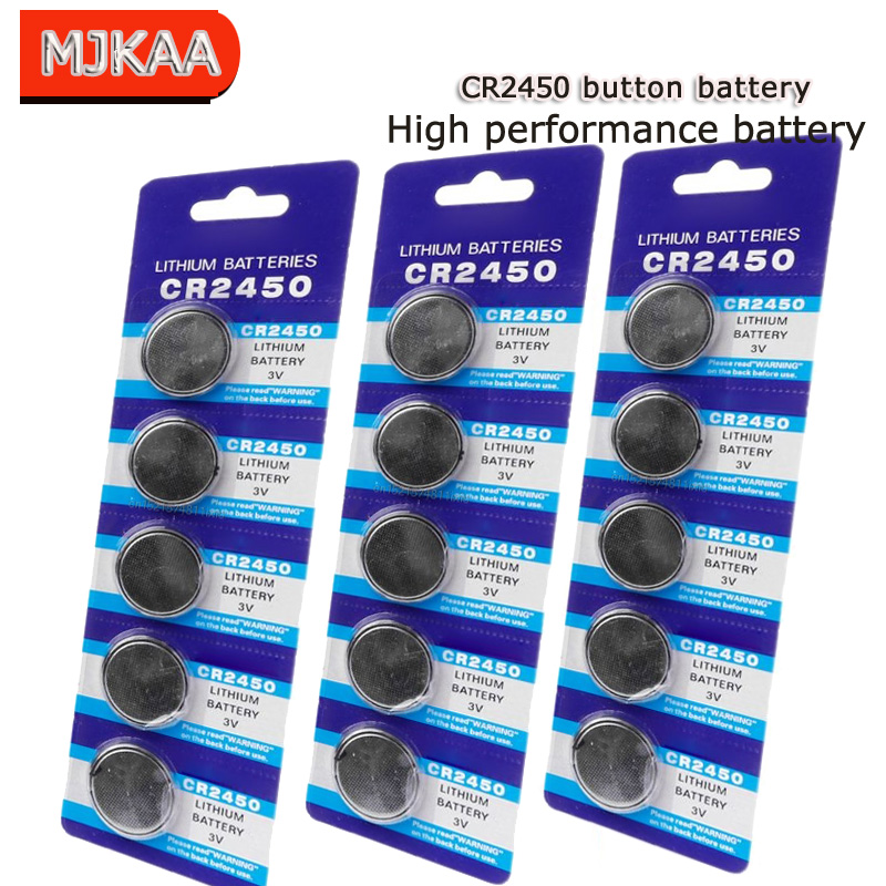 Suppliers Wholesale Cheap 100PCS Brand New Original CR2450 <font><b>CR</b></font> <font><b>2450</b></font> <font><b>3V</b></font> Lithium Button Battery Coin Battery for Watch Hearing Aids image