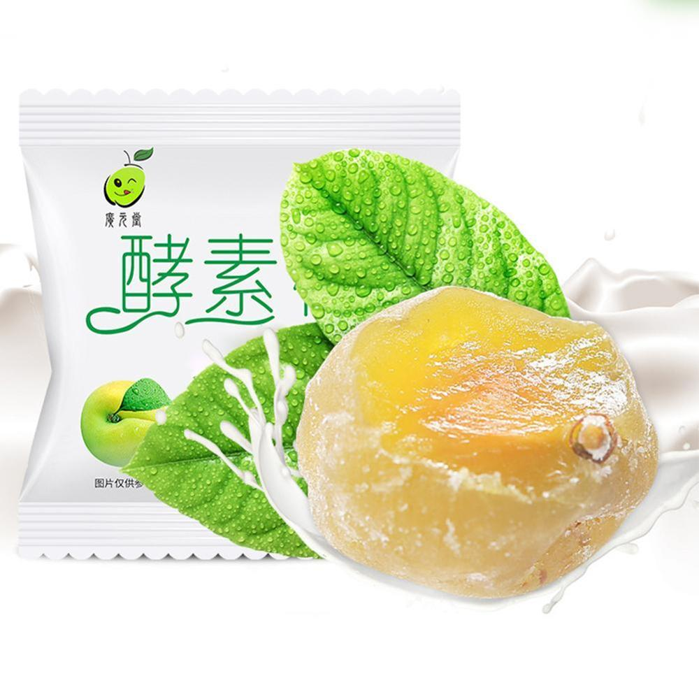 Enzyme Plum Weight Loss Diet Slimming Fat Burnning 7pcs/pack Candied Green Plum Detoxification Beauty Intestine Slimming product