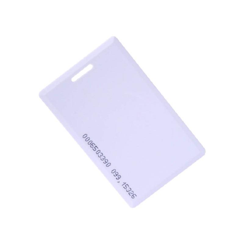 50pcs RFID 1.8mm Sticker Key Fob Token Ring Proximity Chip EM4100 Tk4100 125khz Access Control Card