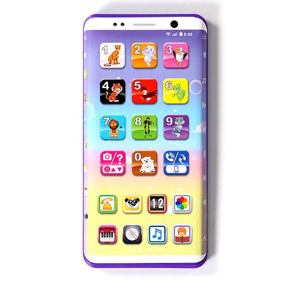 Educational Toys Cellphone With LED Baby Kid English Learning Mobile Phone Childhood Education Puzzle Multi-functiona Toy