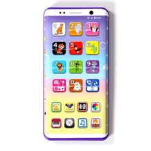 Educational-Toys Cellphone Mobile-Phone-Childhood Learning Baby with LED Kid English