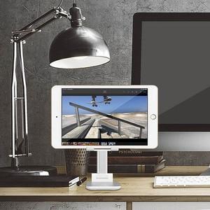 Image 4 - יוניברסל Tablet טלפון מחזיק שולחן עבור iPhone שולחן העבודה Tablet Stand עבור טלפון סלולרי שולחן מחזיק טלפון נייד פולד סטנד הר