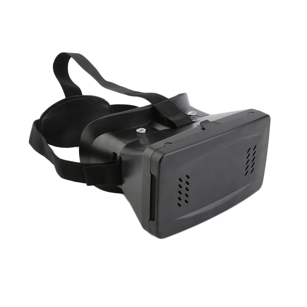 VR 3D Virtual Reality Glasses with Headband for 3.5-6inch Smartphone Phones 3D Viewing Glasses VR Video Glasses image