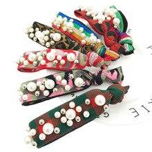 Fashion Women Leopard Square Disc Full Diamond Hair Rope Hair Ring Sparkly Hair Accessories coffee square hair ring