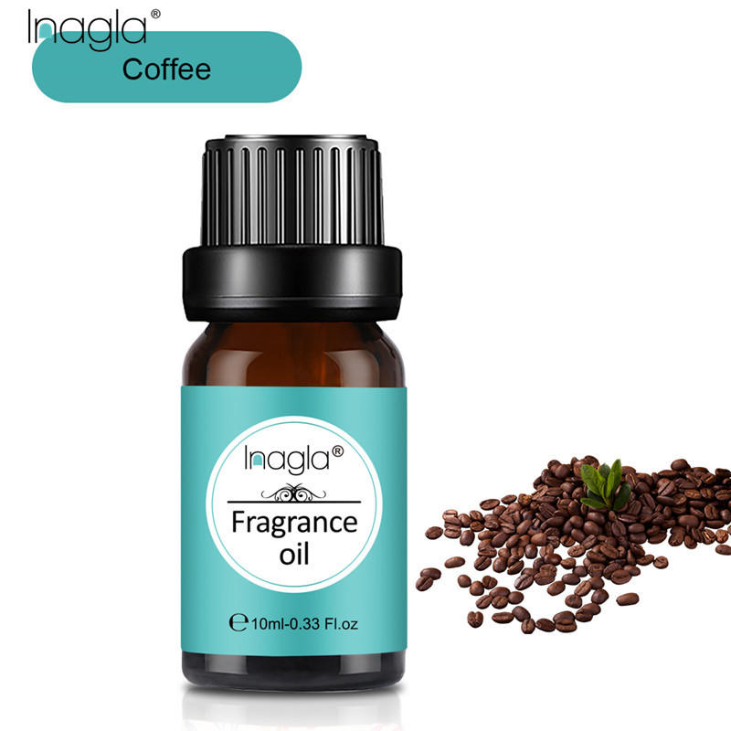 Inagla Coffee Fragrance Essential Oils 10ml Pure Plant Fruit Oil For Aromatic Aromatherapy Diffusers Harvest Spice Lotus Oil