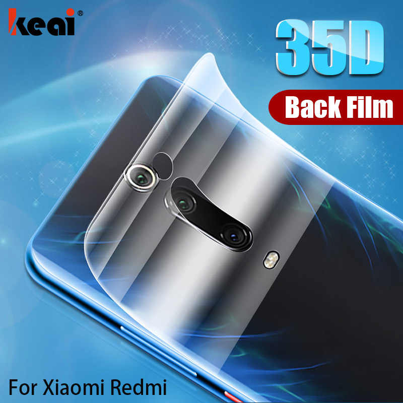 35D Full Cover Back Hydrogel Film For Xiaomi mi 9t A3 CC9E 9 SE 8 Lite Screen Protector For Xiaomi Redmi K20 Note 7 8 Pro Film