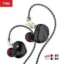 TRN VX 6BA+1DD Hybrid Metal In Ear Monitor Earphone HIFI Sport Earphone Earplug Headset Headplug V90/v80/ TRN T2 T3 T4 Earbuds