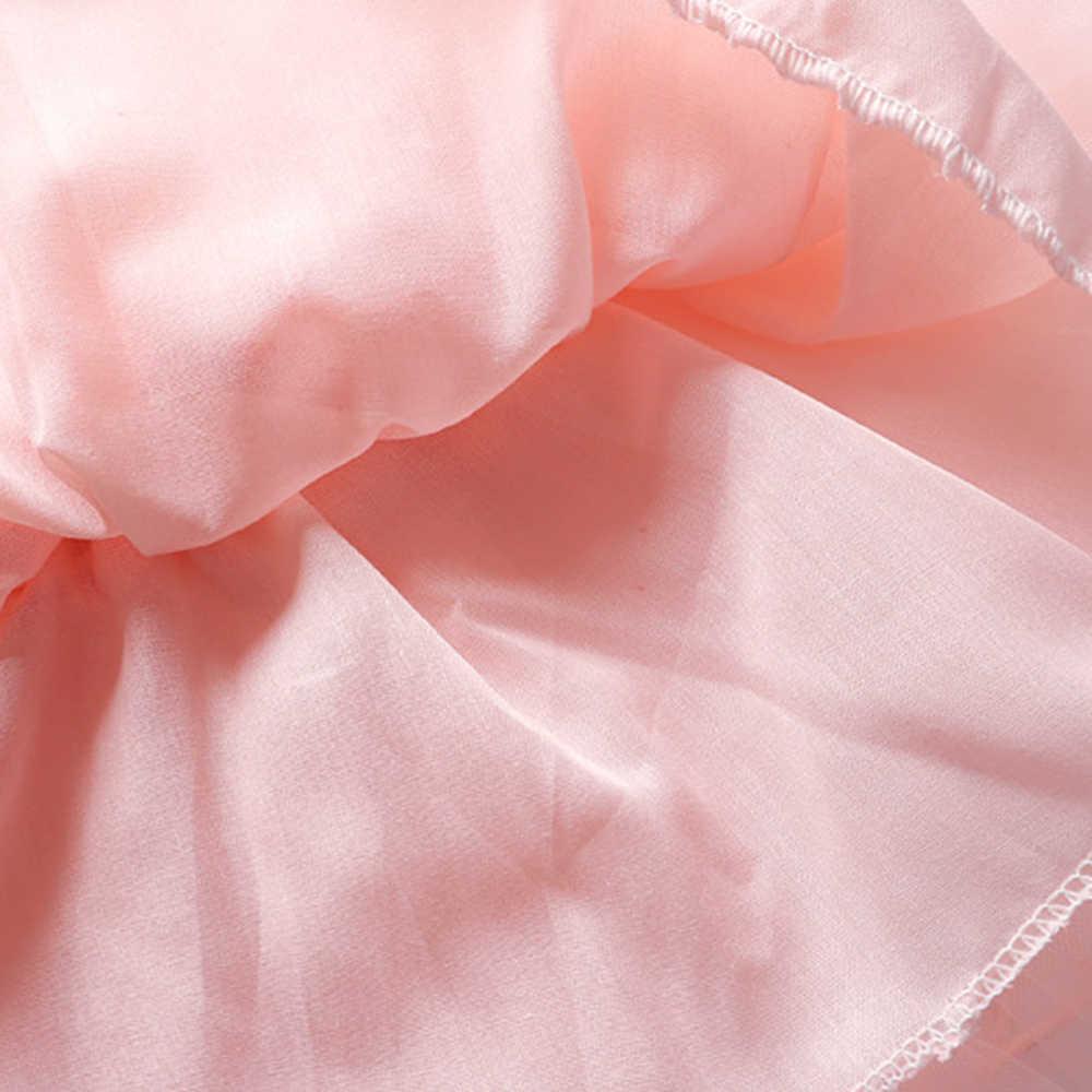 CYSINCOS キッズガールスカートビーズシフォン 3 層スカート王女チュールパーティーダンス秋女の子ふわふわスカート