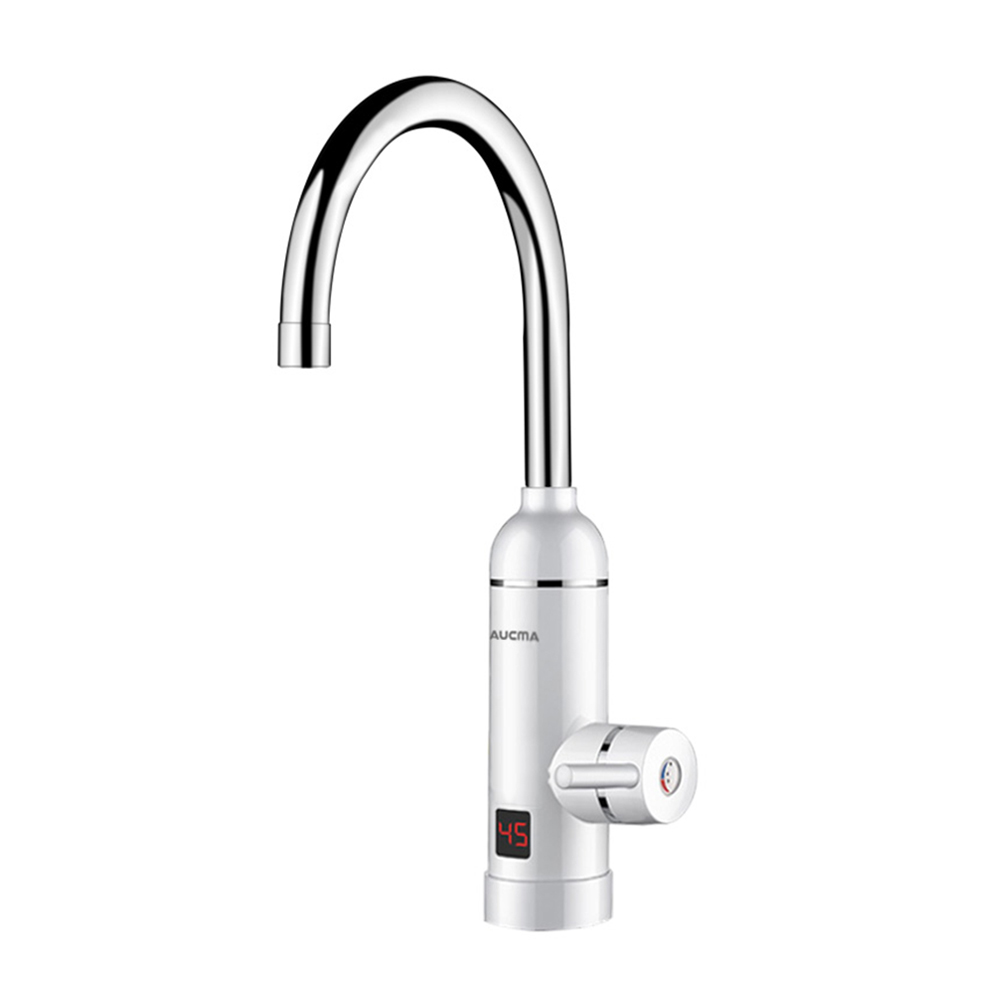 220V 3000W Instant Electric Faucet With Temperature Display Electric Water Heater Fast Instantaneous Thermos Tap Kitchen Faucet