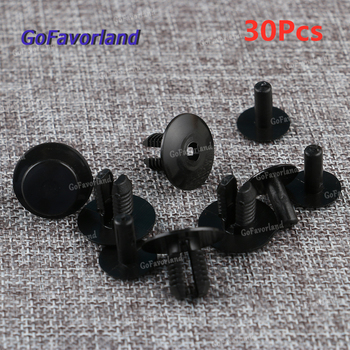 30Pcs Panel Trim Mounting Clips Trunk Lid Wheel Housing Bumper Rivets 2019900292 For Mercedes Benz W123 W124 W126 W129 R129 W140 image