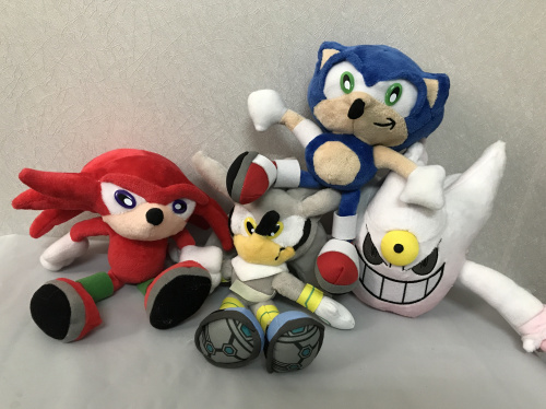 Game Sonic The Hedgehog Plush Doll  23cm Cartoon Animal Plus…