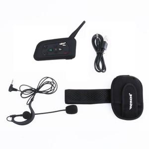 Image 5 - 3 Users Football Referee Intercom Headset V4C Vnetphone V6C 1200M Full Duplex Bluetooth Headphone Soccer Conference Interphone