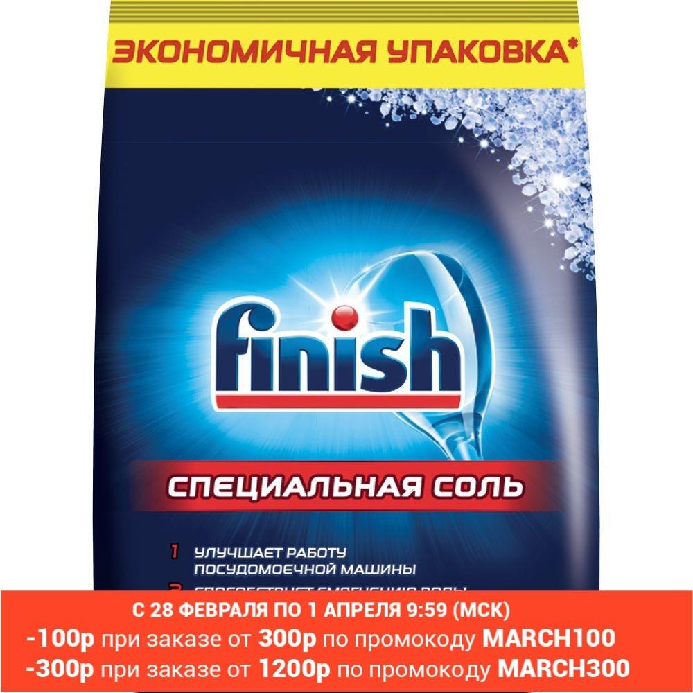 FINISH Соль специальная для посудомоечных машин 3 кг|Средства для мытья посуды|   | АлиЭкспресс