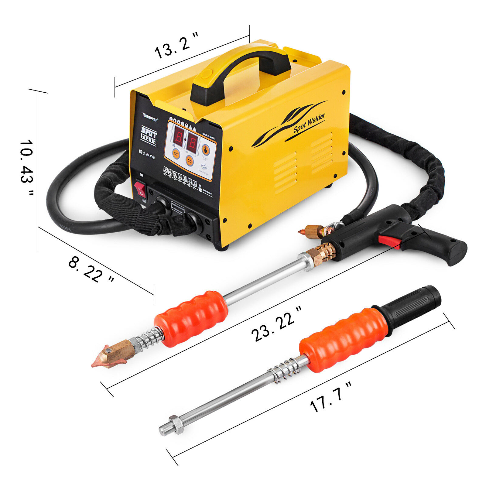 Free Shipping For RU G90E Vehicle Panel Spot Puller Bonnet Door Repair Dent Spotter With Tool