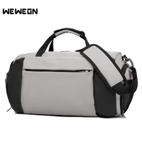Men's Sports Gym Fitness Bag Handbags Dry Wet Separation Yoga Bags for Shoes Women the Shoulder Luggage Duffle Tote