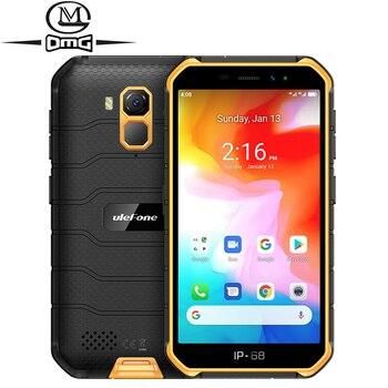 Перейти на Алиэкспресс и купить Ulefone Armor X7 5,0 дюймNFC Android 10 IP68 Ударопрочный мобильный телефон 2 Гб + 16 Гб четырехъядерный сотовый телефон 4000 мАч 4G Прочный смартфон
