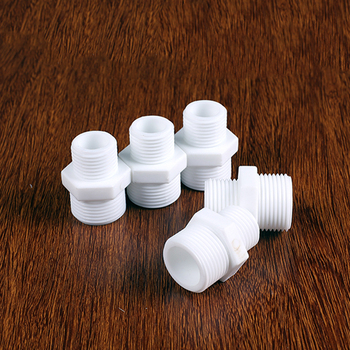 1/4 1/2 3/4 1 BSPP Male Straight Plastic Connect Fitting RO Water System Reverse Osmosis and Housing In Line Filters image
